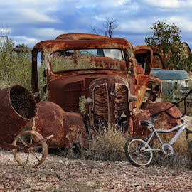Abandoned by Susan Marshall - Transportation Automobiles