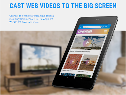 Web Video Cast | Browser to TV- screenshot thumbnail