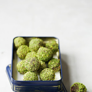 Chocolate Pistachio Truffles Recipes