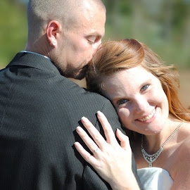 by Stephanie Shuman - Wedding Bride & Groom