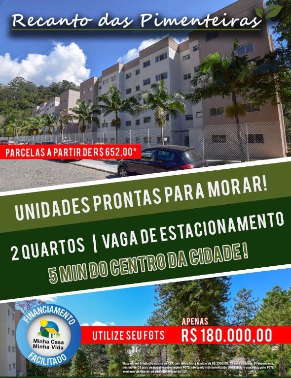 Apartamento à venda em Pimenteiras, Teresópolis - RJ - Foto 1