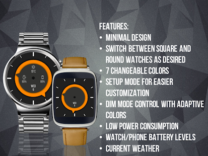 EDGE watch face- screenshot thumbnail