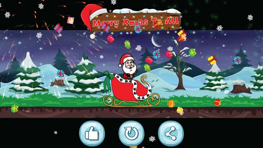 android Santa Christmas Run Screenshot 4