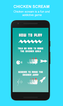 Chicken jump: Chicken Scream apk screenshot