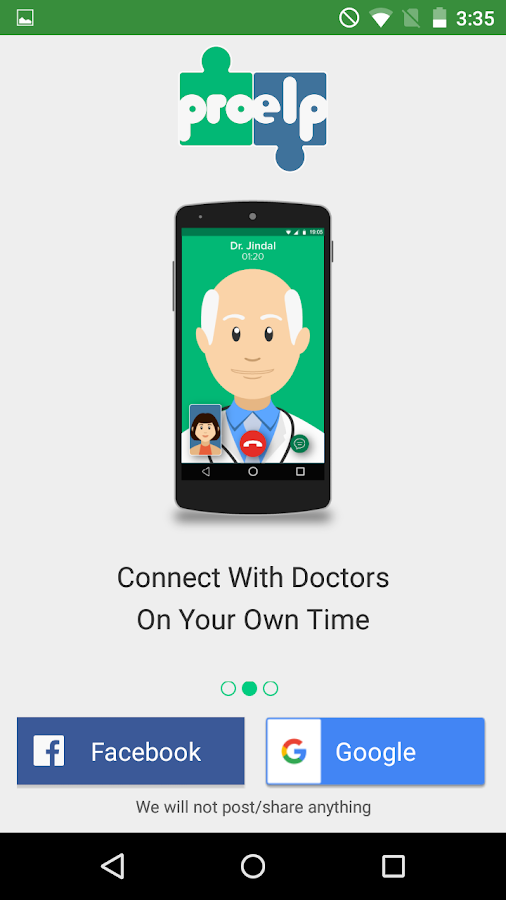ProElp - Consult Doctor Online Screenshot 1