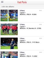 Screenshot of Foot Paris