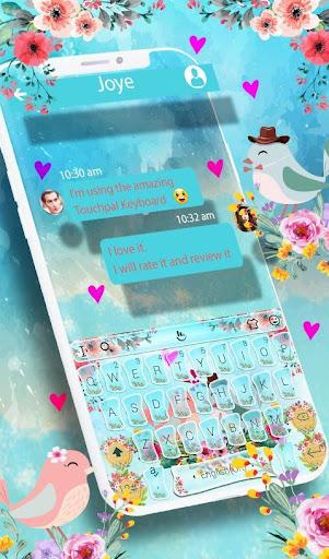 Love Birds Keyboard Theme screenshot 2