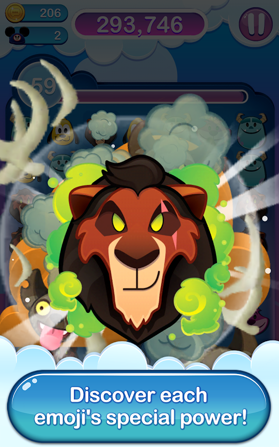 Disney Emoji Blitz – The Lion King Screenshot 0