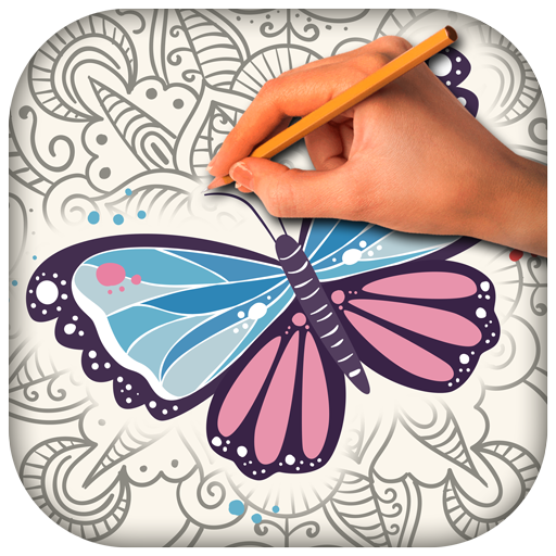 Butterfly Anti Stress Coloring (app)