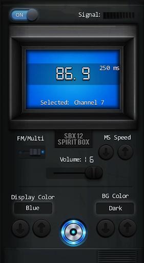 SBX 12 Spirit Box PRO - screenshot