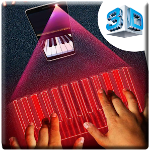 piano hologram simulation