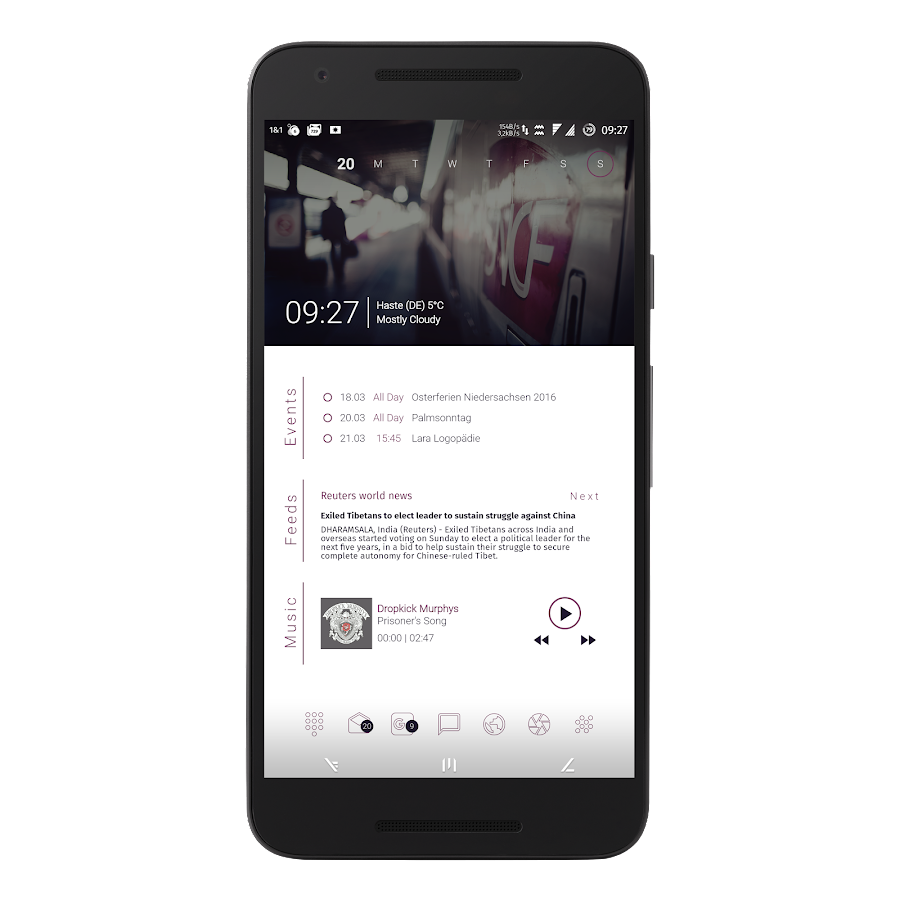 MatErialZ for KLWP Screenshot 5