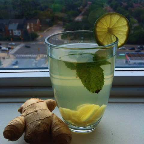 Honey Ginger Water