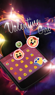 App TouchPal Magic Love Girl Theme APK for Kindle