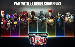 Screenshot of Real Steel World Robot Boxing