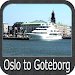 Oslo to Goteborg GPS Map Navigator Icon