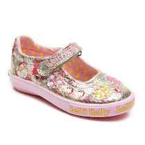 Lelli Kelly Sweetheart Dolly Shoe CANVAS