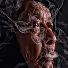 by Emil Zion Punzalan - People Portraits of Men ( senior citizen,  )