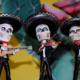 Day of the Dead - Mariachi by Shawn Thomas - Artistic Objects Still Life