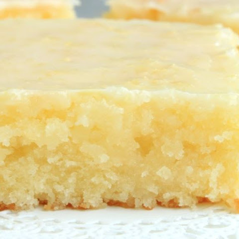 Skinny Lemon Brownies