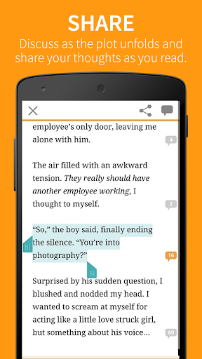 Wattpad ? Free Books screenshot 5