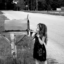 Any Mail For Me? by Teresa Daines - Babies & Children Children Candids