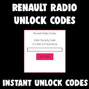 Free Renault Radio Codes For PC (Windows & MAC)