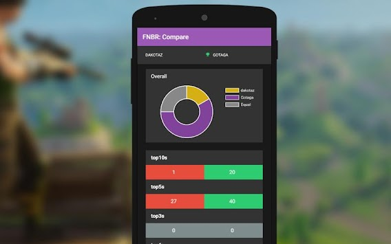 Stats Tool For Fortnite Battle Royal APK screenshot thumbnail 6