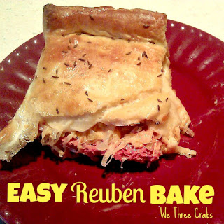 Easy Reuben Bake