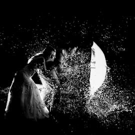 Fearless by Lood Goosen (LWG Photo) - Wedding Bride & Groom ( water, wedding photography, wedding day, weddings, wedding, brides, fearless, wet, bride and groom, wedding photographer, bride, groom,  )
