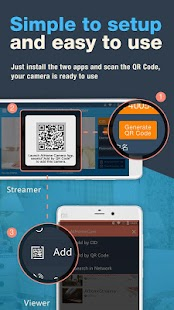 AtHome Video Streamer — security monitor camera Screenshot