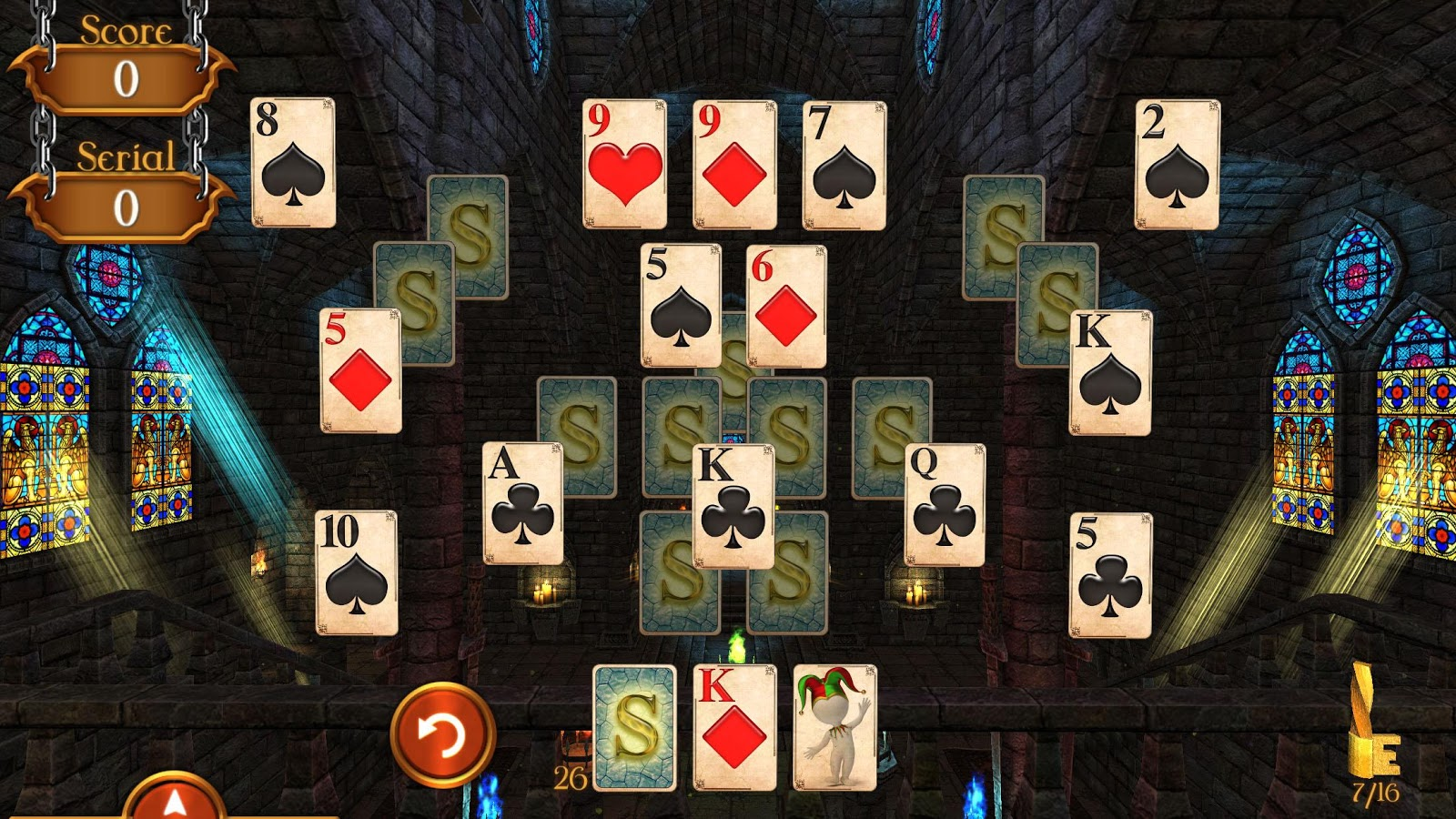 Solitaire Dungeon Escape 2 Screenshot 2