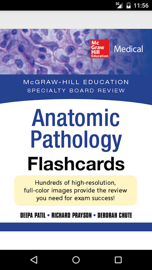 Anatomic Pathology Flashcards Screenshot 0