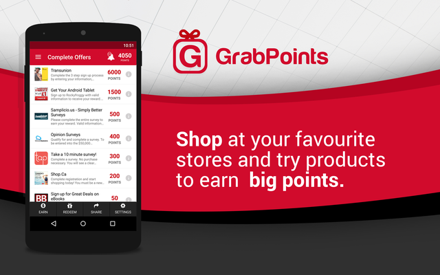 GrabPoints - Free Gift Cards Screenshot 1