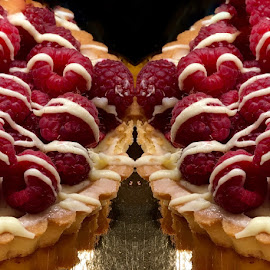 Double Raspberry Tarts by Lope Piamonte Jr - Food & Drink Cooking & Baking