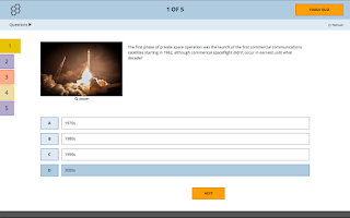 Screenshot of Socrative Student