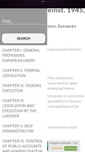 Austrian Constitution - screenshot