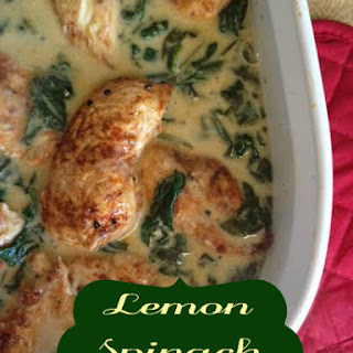 Chicken Spinach Heavy Cream Recipes