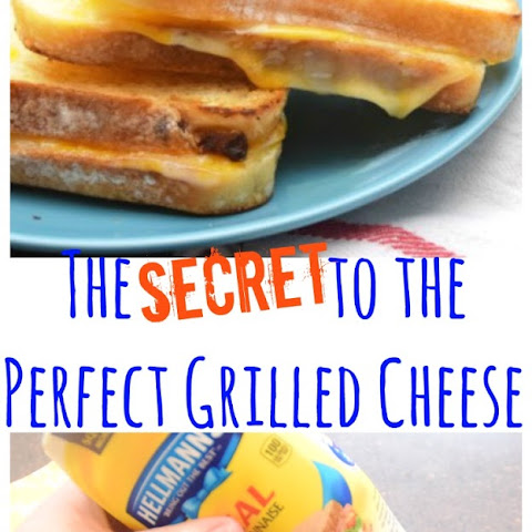 Perfectly Crisp Grilled Cheese