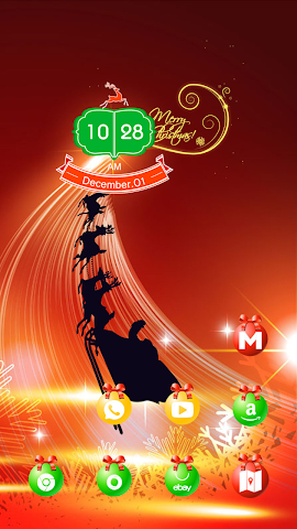 android Christmas light Screenshot 1