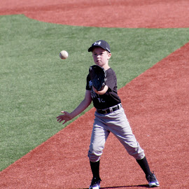 by Jackie Eatinger - Sports & Fitness Baseball ( baseball camp, brayden,  )