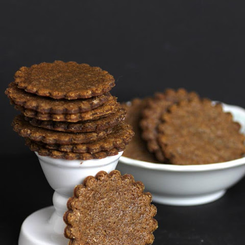 Moravian Ginger Snap Cookies