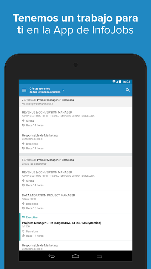 InfoJobs - Job Search Screenshot 16