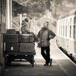 by Roy Hawkins - Transportation Trains