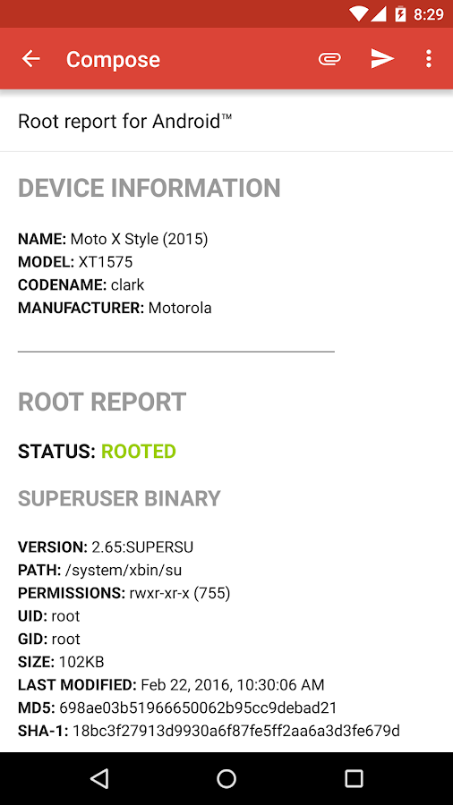 Root Check Screenshot 7