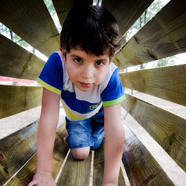 In the tube by Mladjan Pajkic - Babies & Children Child Portraits ( child, tube, game, boy, kid )