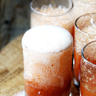 Whole Peach Bellini