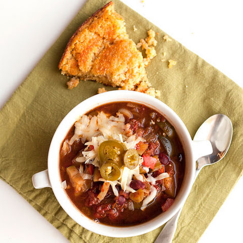 Crock-Pot vegetarian chili
