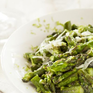 Parmesan Honey Asparagus