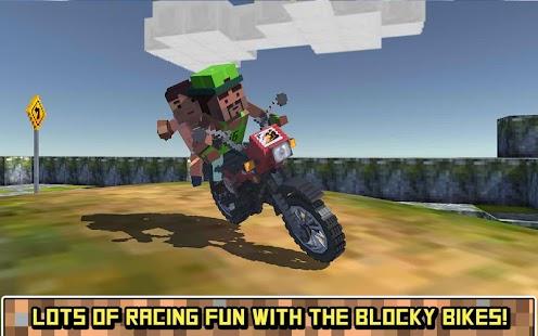 Blocky Moto Bike SIM: Summer Breeze
